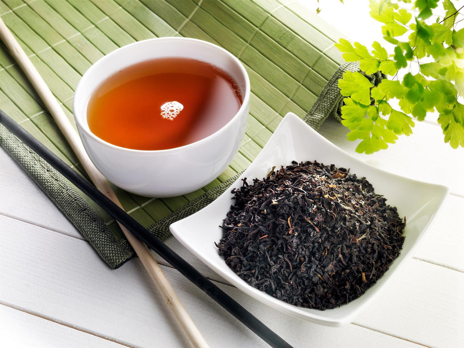 Neurodermitis Schwarzer Tee