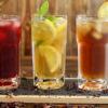 Cocktails mit Tee