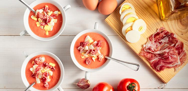 Salmorejo Tomaten-Suppe